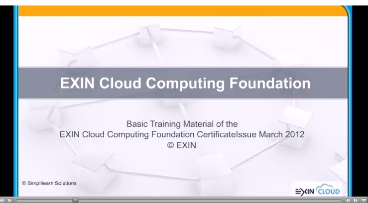 Cloud computing Fundamentals