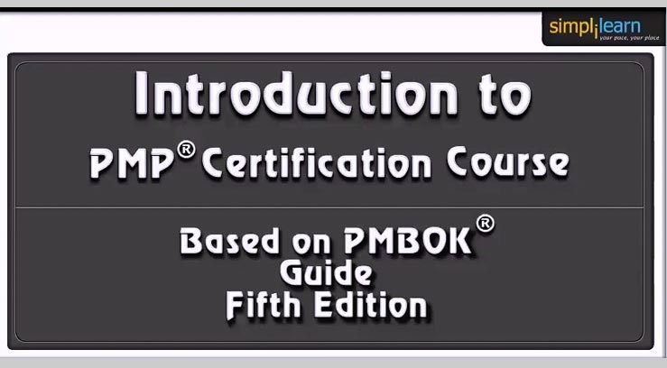 A Detailed Outline of PMP Certification Course